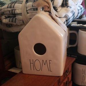 Rae Dunn HOME Birdhouse